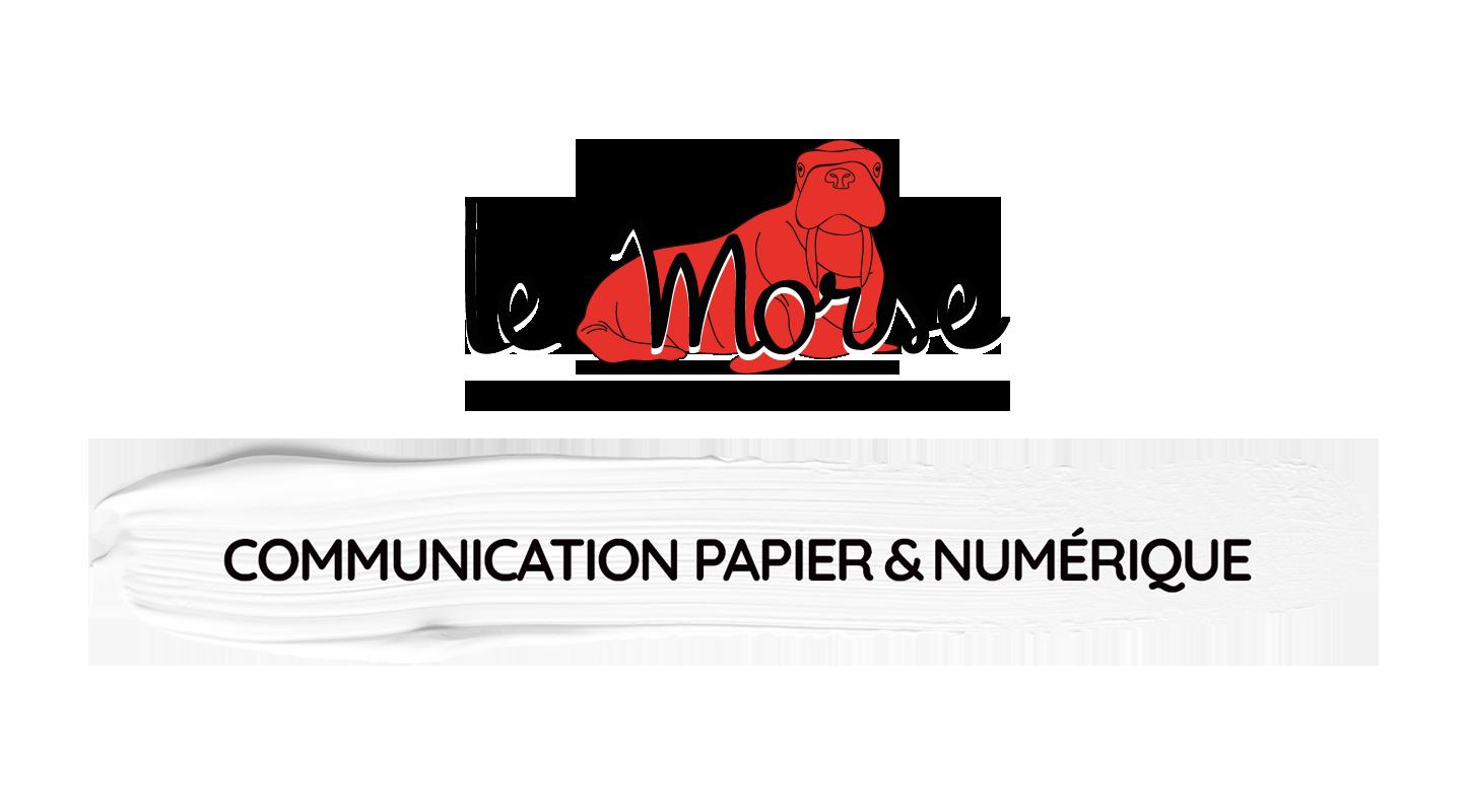 Le Morse • communication papier et numérique